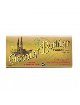 Praliné amande - Chocolat noir