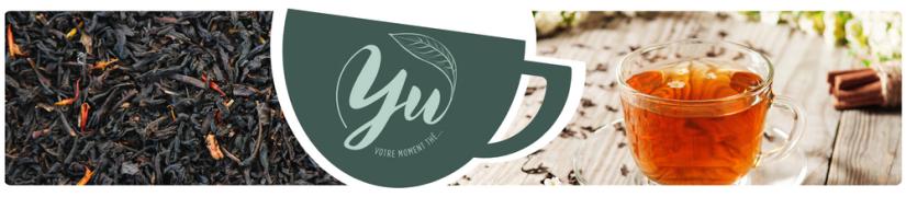 Thés Noirs parfumés | Yu, votre moment thé